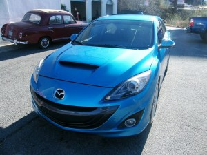 After body repair: Mazda